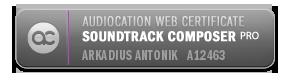 Audiocation Web Certificate